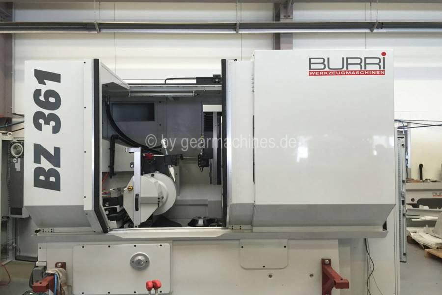 Burri BZ 362 whole overview